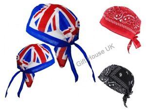 New  Zandana Unisex Bandana Sports Scarf Head Cotton Tie Down Band Biker's Cap