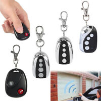 HOT Universal 2/4Channel 433Mhz Cloning Gate Garage Door Remote Control Key Fob