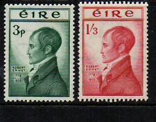 IRELAND 1953 EMMET SET SG156/157  VERY LIGHTLY MOUNTED MINT