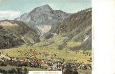 308979) Panorama AK Lungern u. das Wylerhorn Kanton Oberwalden Schweiz
