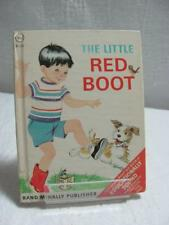 Vintage Rand McNally Children's Books The Little Red Boot c1966