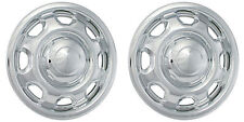 "(2) 2014 FORD F150 17"" CHROME WHEEL SKINS LINERS HUBCAPS IMP-80X"