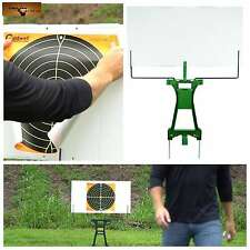 2 Targets Holder Large Portable Collapsible Frame Shooting Target Stand