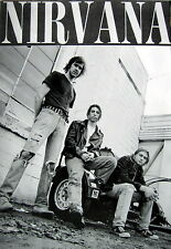 "Nirvana ""Looking Up At The Band"" Poster From Asia - Grunge, Alt Rock Music"