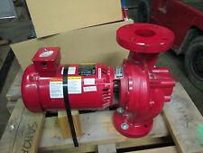 Bell & Gossett Pump W/ Baldor Reliance Super E Motor HP:3 Cat#VEJMM3211T  (NIB)