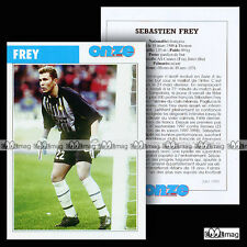 FREY SEBASTIEN (AS CANNES, INTER MILAN) - Fiche Football / Calcio 1999