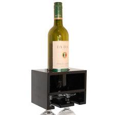 AMANTI - da parete bottiglia di vino / VETRO SCAFFALE - NERA st15s052