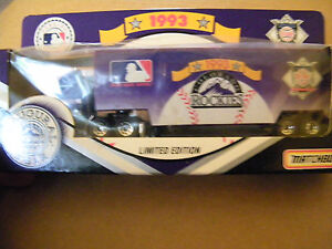 MATCHBOX WHITE ROSE COLLECTIBLES 1993 COLORADO ROCKIES INAUGURAL YEAR FORD
