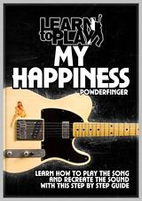 NeW LEARN TO PLAY MY HAPPINESS by POWDERFINGER GUITAR DVD TUITIONAL TUTORIAL
