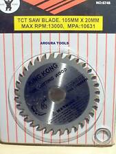 WOOD CUTTING SAW BLADE 4 INCH - TUNGSTEN TEETH.