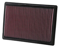 K&N Air Filter Element 33-2295 (Performance Replacement Panel Air Filter)