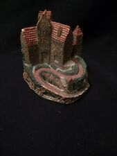 Vtg United Design Main Street Little Village Collection Kiehlfels Castle Figure