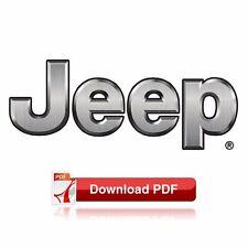1997-1998 Jeep Grand Cherokee (ZJ & ZG) Factory Shop Maintenance & Repair Manual