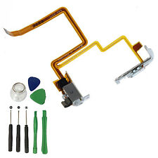White Headphone Audio Jack Hold Switch Flex Cable For iPod Video 5th 30GB+ Tools