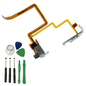 for iPod Classic 6/7th 80gb 120gb Headphone Audio Jack Hold Switch Flex Cable