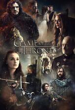 POSTER IL TRONO DI SPADE GAME OF THRONES SEASON 5 TV STARK LANNISTER DAENERYS #3