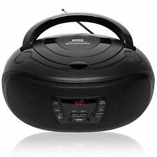 Grouptronics Gtcd-501 Stereo Boombox Portable CD Player Radio With USB Mp3 & in