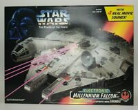 Star Wars Power of the Force Electronic Millennium Falcon Toy Ship  NEW & Sealed