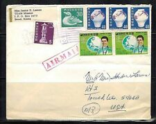 Korea Stamps: 1971  Cover to Tomah, Wisconsin USA