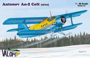 Antonov An-2 Colt (skies) Valom    1/48
