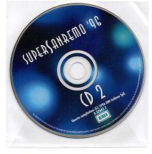 SUPER SANREMO '96 - DISCO 2 - CD