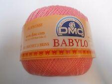 DMC Babylo Crochet Cotton Thread 50g - Size 30 Colour Pink - Colour Number 460