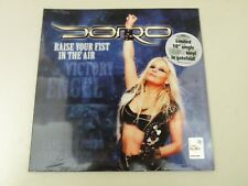 "DORO - RAISE YOUR FIST IN THE AIR - LIMITED 10"" SINGLE CLEAR VINYL - NUOVO!NEW"