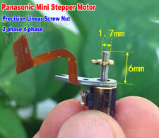 Panasonic Mini 6mm 2-Phase 4-Wire Stepper Motor Precision Linear Screw Nut Shaft