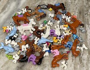 LEGO Friends Mini Dolls Minifig ALL PETS Huge Bulk Lot Of 1/2 Pound LB (80 Pets)