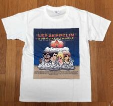 LED ZEPPELIN BURN LIKE A CANDLE T-SHIRTS