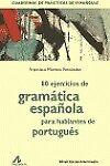 80 ejercicios de gramática Española para hablantes de Portugués