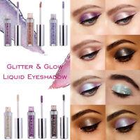 PHOERA Diamond Pearly Watery Eyeshadow Liquid Eye Shadow Glitter Eyeliner Makeup