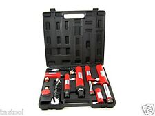 11 pc Hydraulic Ram Auto body Frame Repair Pull Push Ram Lift Hook Tool Kit H D