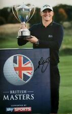 alex noren signed 12x8 golf open pro golfer