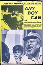 "Boxing Book ""Any Boy Can"" The Archie Moore Story  by Archie Moore-Leonard Pearl"