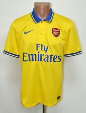 ARSENAL 2013/2014 AWAY FOOTBALL SHIRT JERSEY NIKE SIZE M ADULT
