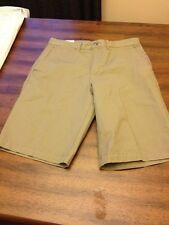 Claiborne Mens size 30 Military Khaki shorts NWT