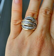 Two Tone Ring Sterling Silver with 9K Gold Size O SAME DAY SHIPPING