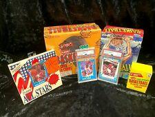 FLEER BASKETBALL PACKAGE BBCE 1989-90 Box, 1990-91 JUMBO Box, 2 PSA Jordan +More