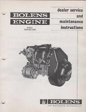 1971 BOLENS SNOWMOBILE ENGINE MODEL 3Z400 & 3Z440 DEALER SERVICE MANUAL (163)