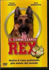 dvd IL COMMISSARIO REX PRIMA STAGIONE COMPLETA TOBIAS MORETTI 3 DVD ***