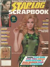 Starlog Scrapbook Sexiest Heroines Jane Fonda as Barbarella Doctor Who Tarzan