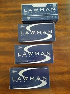 (5) EMPTY Speer Lawman 9mm Ammunition Boxes with Plastic Inserts Reloading