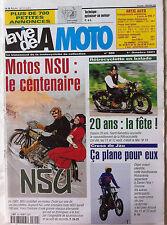 LVM - La Vie de la Moto n°300 du 1/10/2001; Motos NSU/ Cross de Jau/ rétrocyclet