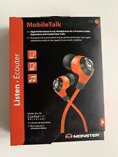 Monster High Performance In-Ear Headphones w/ Inline mic - Orange