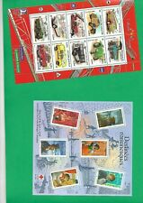 "2 France stamps blocks, **mnh, 2003 ""car"" , ""romansques"""