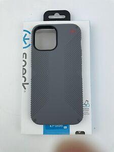Speck - Presidio2 Grip Case for Apple iPhone 12 Pro Max - Graphite Grey