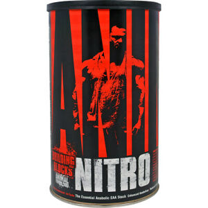 Universal Nutrition Animal Nitro - 44 pack - Anabolic EAA Stack Muscle Builder