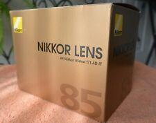 MINT++ Nikon Nikkor AF 85mm f/1.4D lens