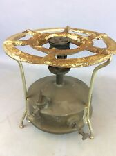 VINTAGE BRASS BASE OPTIMUS No.5S PRESSURE STOVE FROM SWEDEN